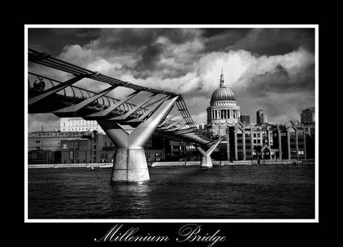 millenium bridge by mirchevphotography