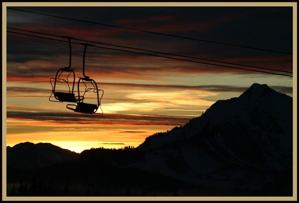 Ski II by damian