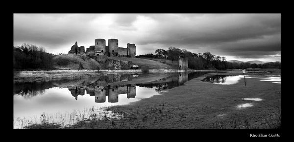 Rhuddlan Castle by gndphotography