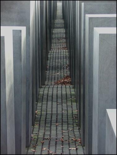 The Murdered Jews Memorial, Berlin by sybilla