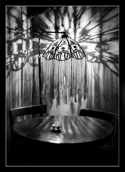 Lace Lamp by mcgoo