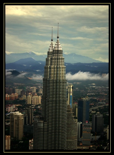 Petronas Towers by DebnIan