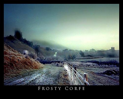 Frosty Corfe by pennyspike
