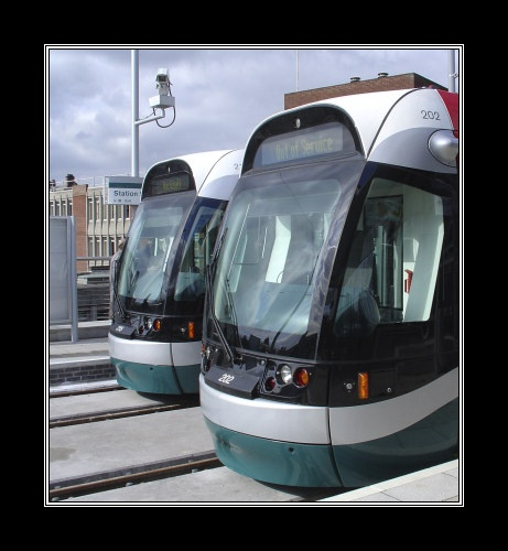 Nottingham Trams by cossack2005