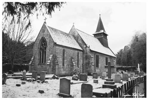 Snowy Church by Leightonhs