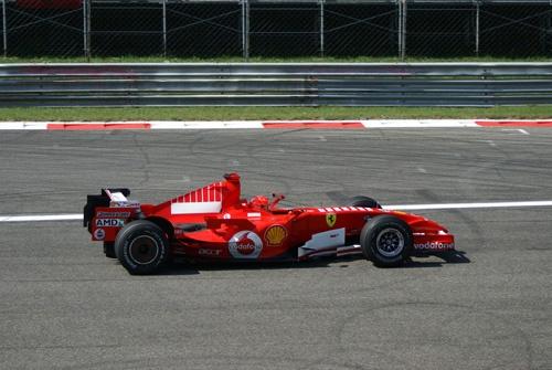 Schumacher at Monza 2006 by ferrarifatboy