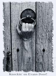 Knockin on Evans Door