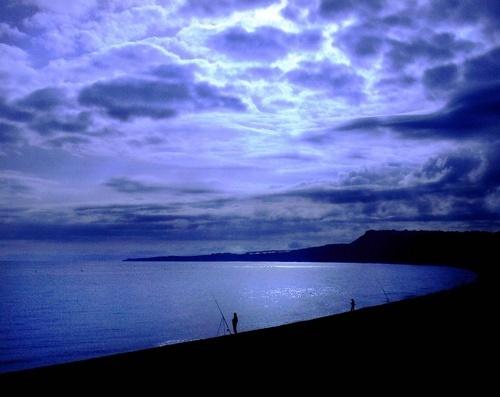 Moonlight fishing by alan a