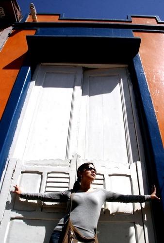 Dennis in the door by l_pire