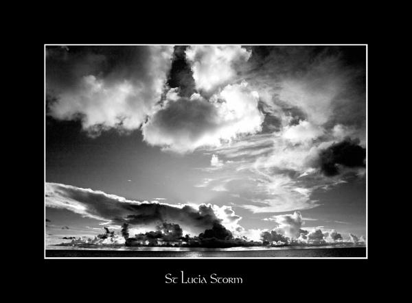 St Lucia Storm by pontybiker