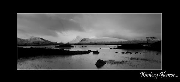 Wintery Glencoe by ruralscotland
