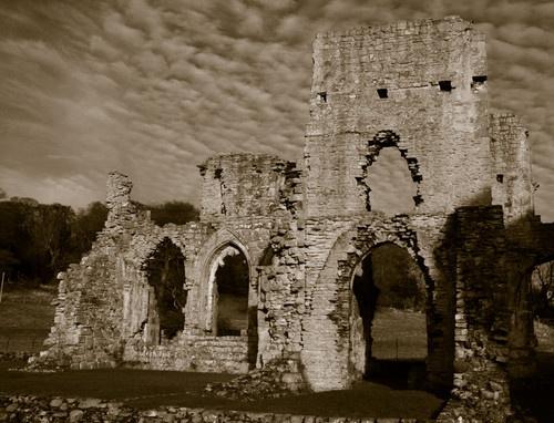 Easby Abbey by steveg