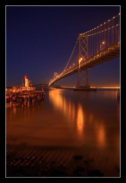 Bay Bridge - HDR by PatrickSmith