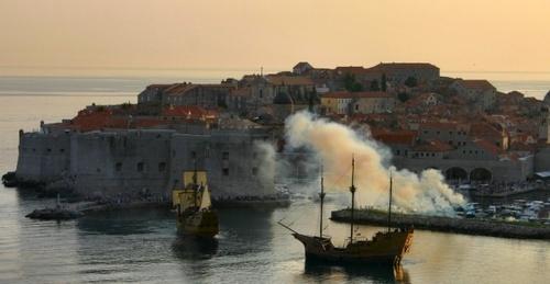 Dubrovnik Galleons by beavis