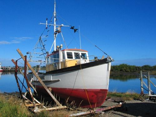 Dry dock at Westport New Zealand by Nigel_NZ