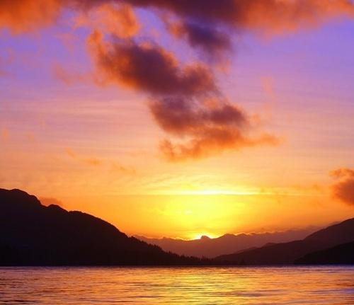 Scottish Sunset by andygibb