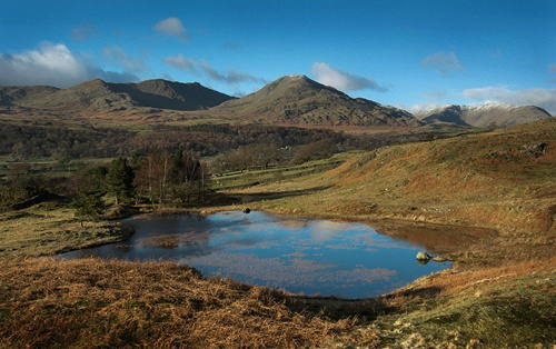 A Tarn & A Mountain by mjsayles