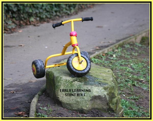 Early Learning Stunt Bike? by mickf1