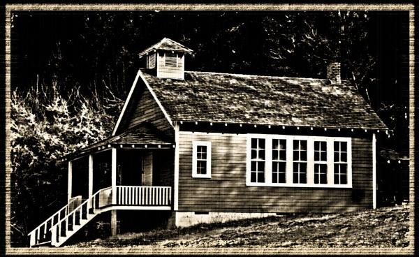 Old Soap Creek School by mommy2cutekids