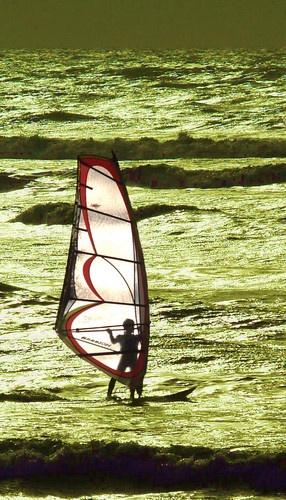 Lone Surfer by BOB_CHATFIELD
