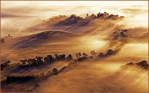 Misty Fields by PaulY