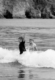 Splashing fun!