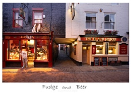 Fudge and Beer