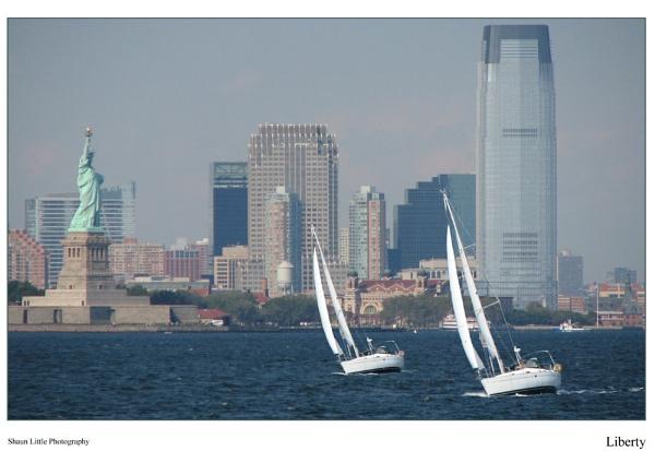 Liberty boat race, by ShaunL