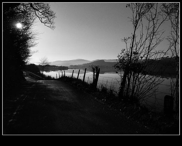 Bala road by GingerBadger