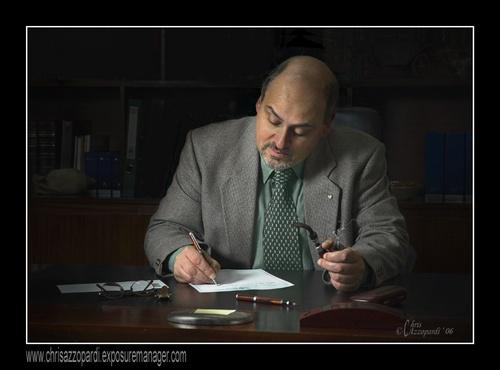 The Writer by Ruggieru