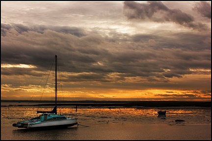 Sunset in the estuary by Terry_R