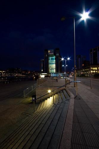 Baltic Nightfall by culturedcanvas
