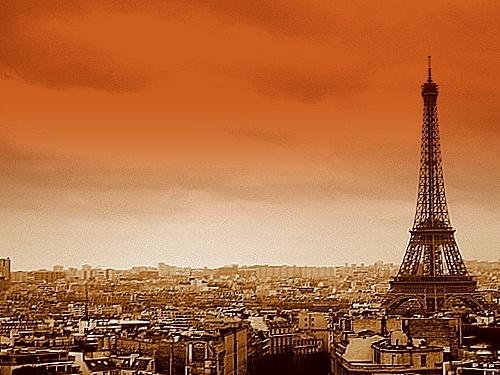 Paris Skyline by LauraBeans