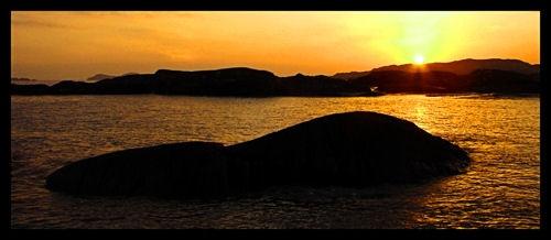 Derrynane Beach Sunset by Callanan