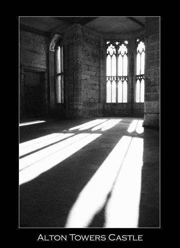 Alton Towers Castle by Adobecs