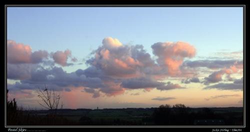 Pastel Skies by ElmsArt