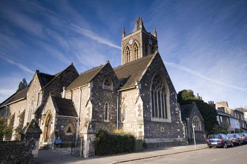 St Anrews Church by Squirrel