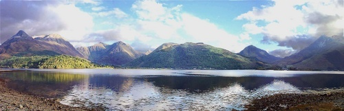 Loch Leven Panorama by Sylviwhalley