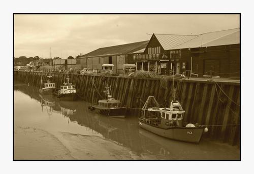 Whitstable Harbour by hughscott