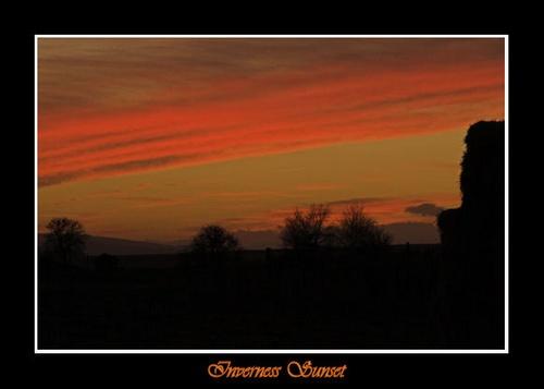 Inverness Sunset by amwaluk