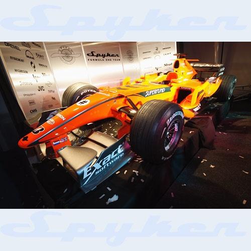 Spyker F1 by blackett