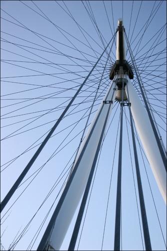 London Eye by davart