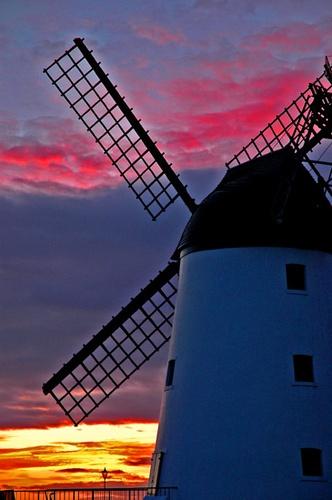 Lytham windmill by AEasthope67