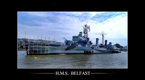 H.M.S.  BELFAST by C_Daniels