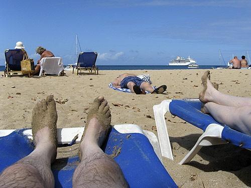 Relaxing by albyn