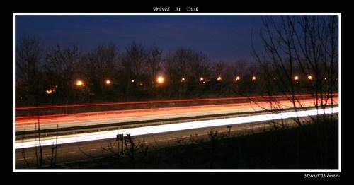 Travel at dusk by Stuart322