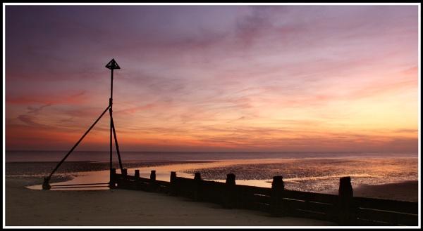 Selsey Bill sunset by jimbo_t
