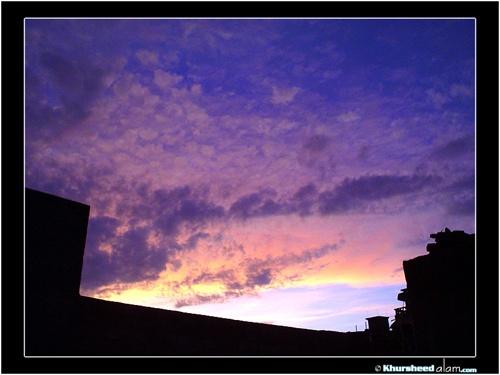 An Evening Blue by dotpix