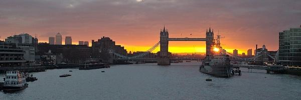 Tower Bridge Sunrise by paul162brown