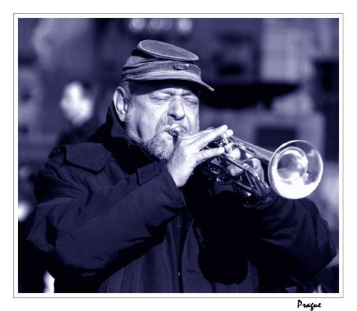 Prague jazz band by DebnIan
